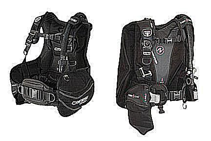 Cressi Start and Aqualung Libra Buoyancy Compensators