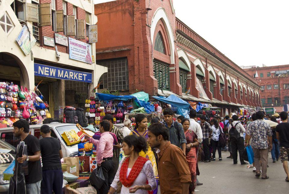 New Market, Kolkata.