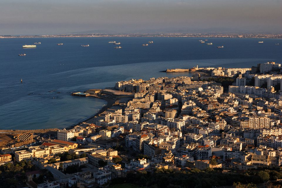 Algeria, Algier, view to the city from above