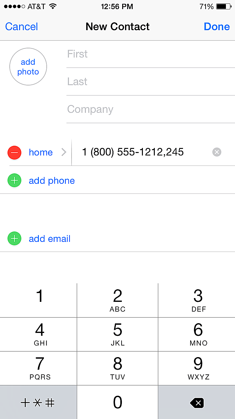 program extensions into iphone