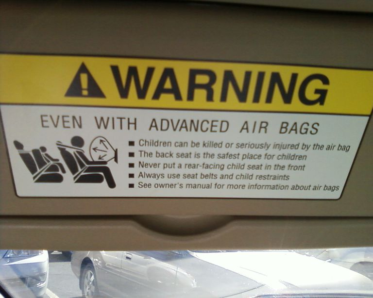 airbag warning