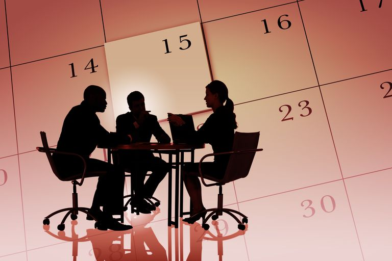 Calendar to lay out deferred comp payout dates.