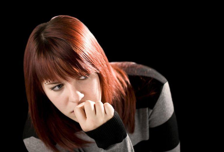 Worried Teen Girl