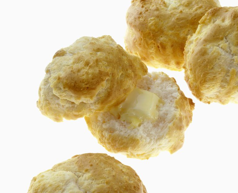 Learn how to making baking powder biscuits if you run out of baking powder. All you need is a simple substitution based on cooking chemistry.