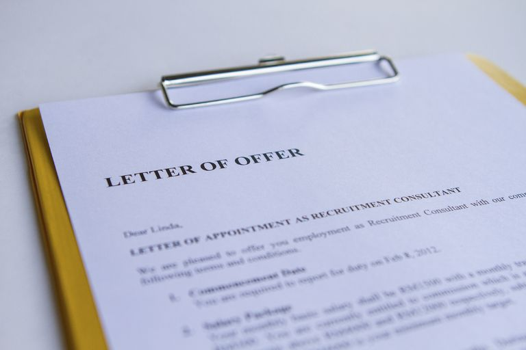 What is a Counter Offer Letter – Counter Offer Letter