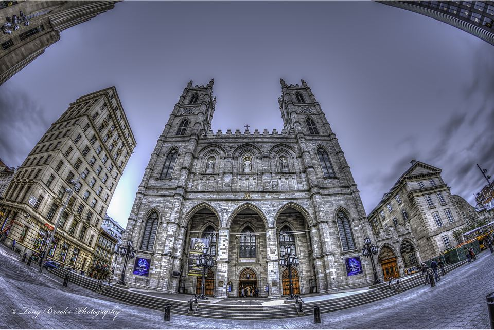 The Notre-Dame Basilica is Montreal's leading attraction.