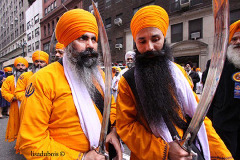 NYC Vaisakhi Parade Panj Pyare