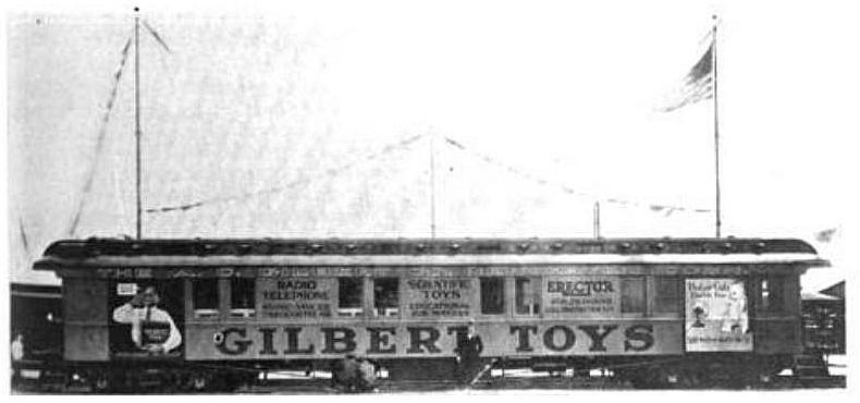 Gilbert model train