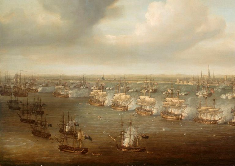 Royal Navy at the Battle of Copenhagen