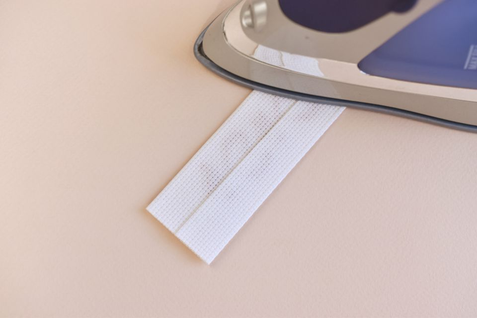Fold and Iron the Bookmark
