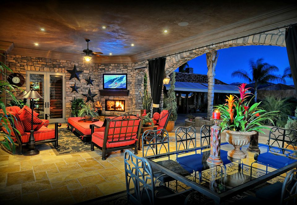 Cozy Outdoor Living Room  outdoor room designs. 50 Outdoor Living Room Design Ideas