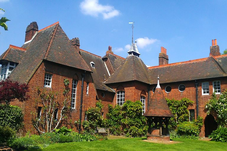 Rear view of The Red House in Upton, Bexleyheath, Greater London