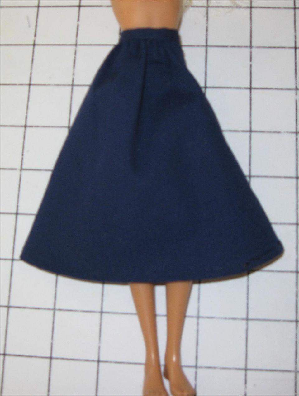 Sew a Fashion Doll or Barbie Skirt