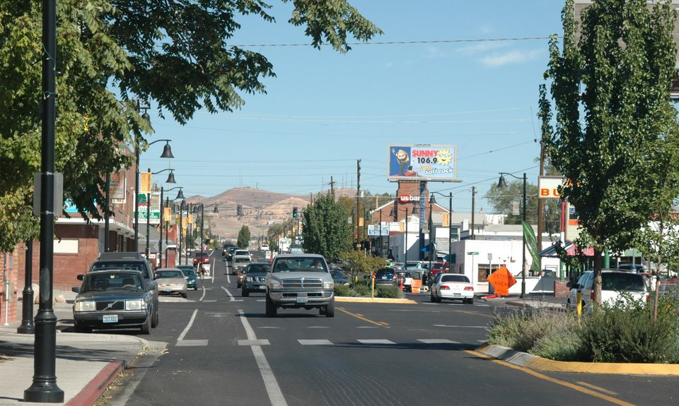Wells Avenue neighborhood in Reno, Nevada.