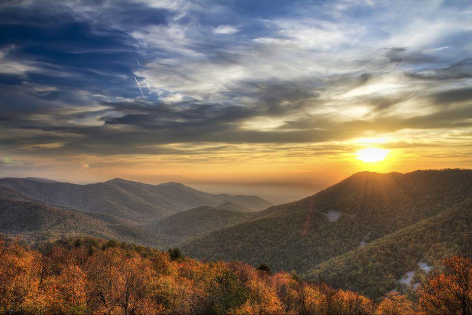 Shenandoah Sunset