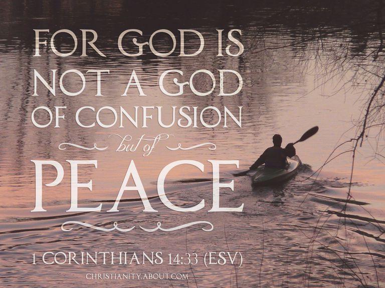 1 Corinthians 14:33 Defeating Confusion