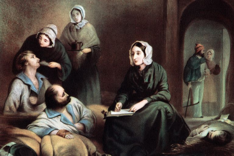 Florence Nightingale - Crimea Hospital