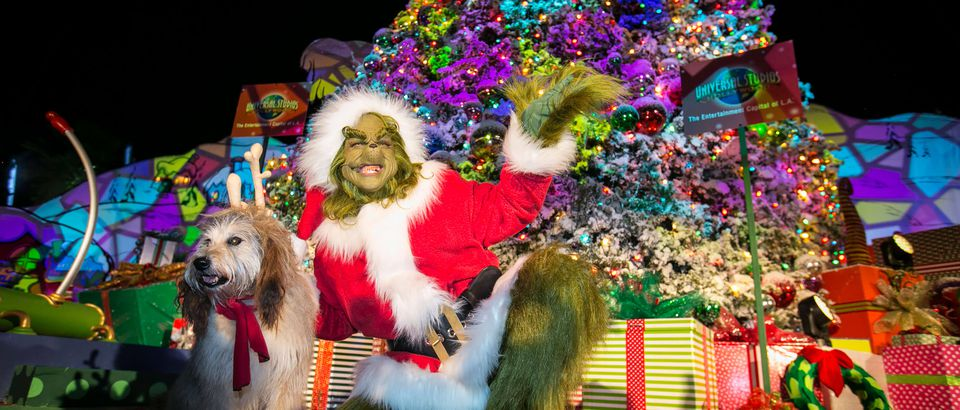 Grinchmas at Universal Studios, Los Angeles