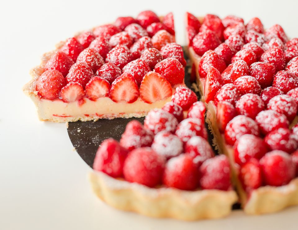 French Strawberry Tart Recipe