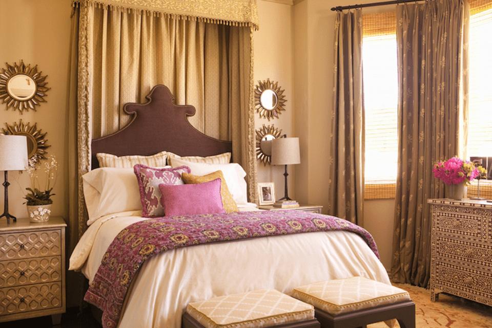brown and purple bedroom - Bedroom Colors In Purple