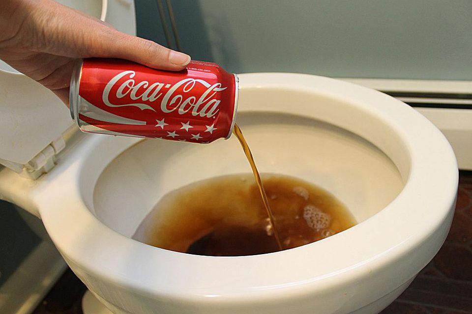 Image result for coke in toilet