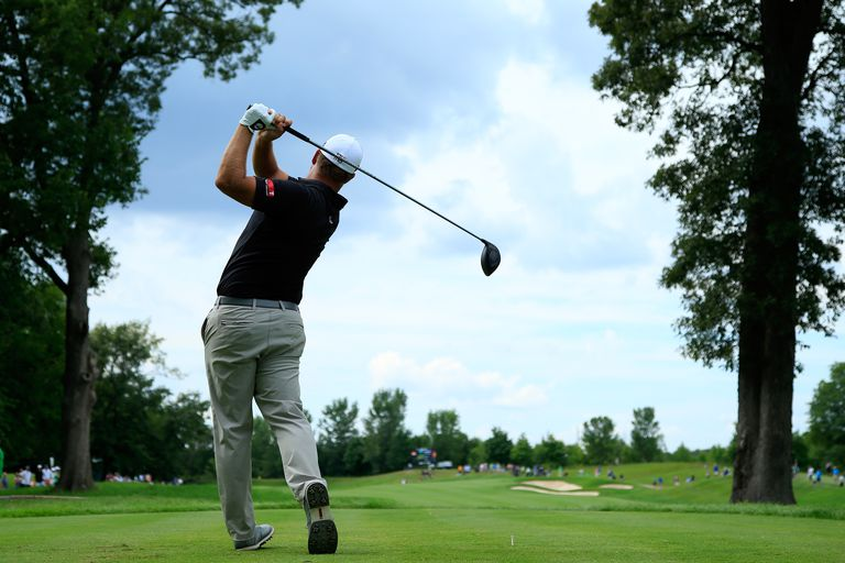 Ryan Moore during the final round of his win at the 2016 John Deere Classic.