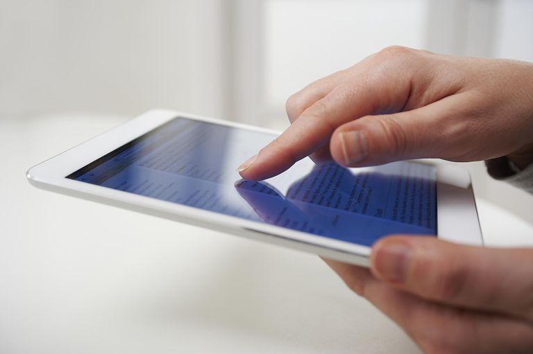 Touchscreen tech