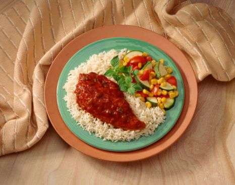 Barbecue Chicken Breasts