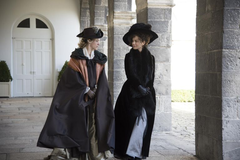 Still from Whit Stillman's Love and Friendship - Chloe Sevigny and Kate Beckinsale