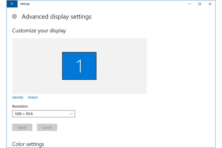how to change windows 10 setting to classic view