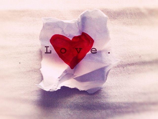 Love in paper