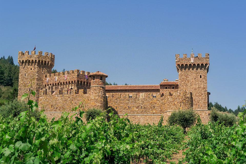 Castello di Amorosa Castle and Vineyards