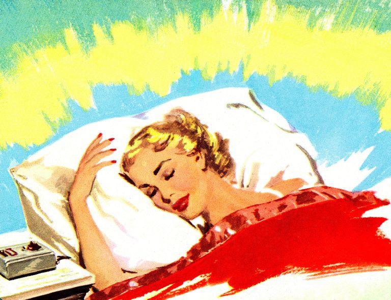 REM sleep towards morning causes vivid morning dreams upon awakening