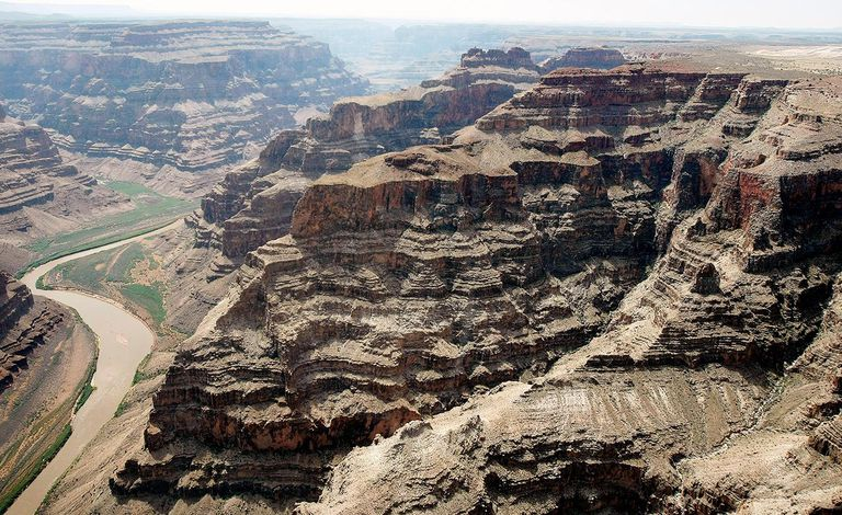 Aerials Of The Grand Canyon