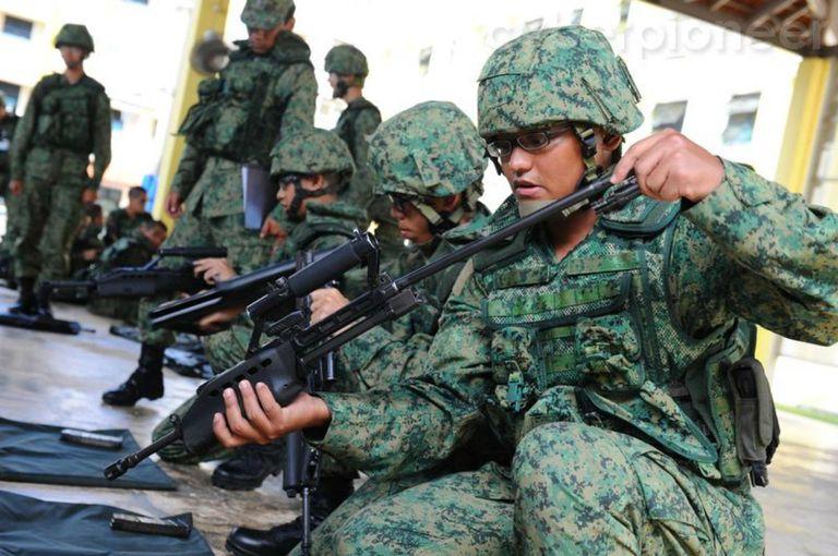 Basic Military Training - Weapon Handling