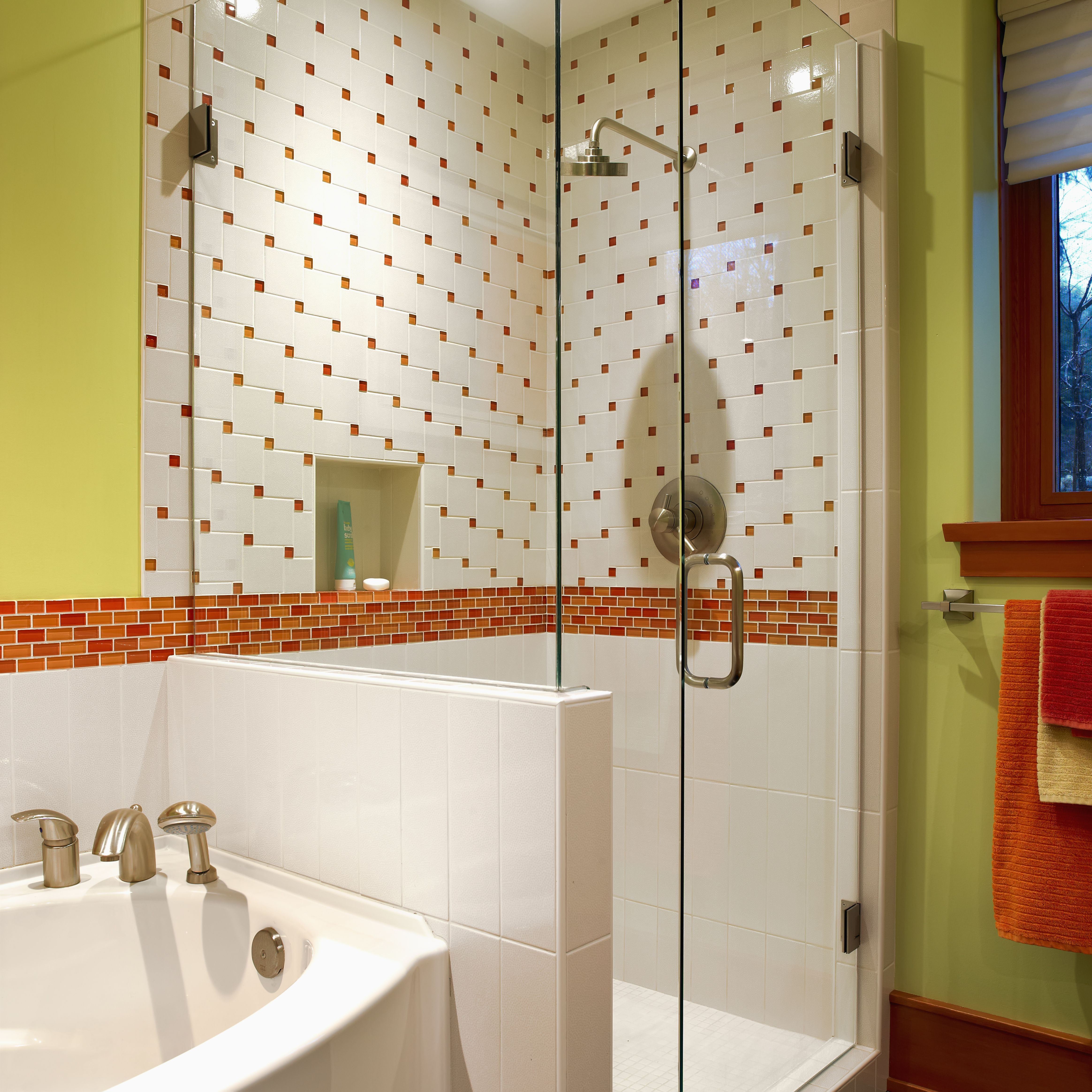 gallery bathroom tile wainscoting tiles waincoting contractor services irc photos