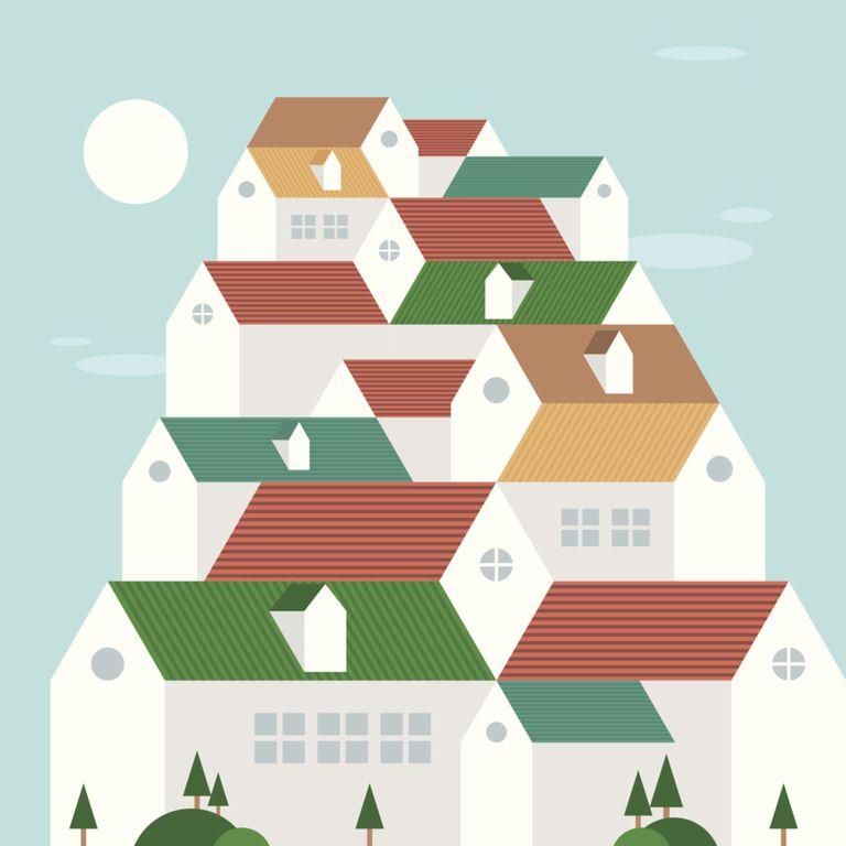 Mountain of Houses