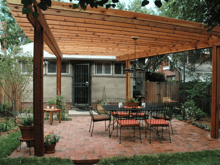Wood Pergola Plan by HGTV