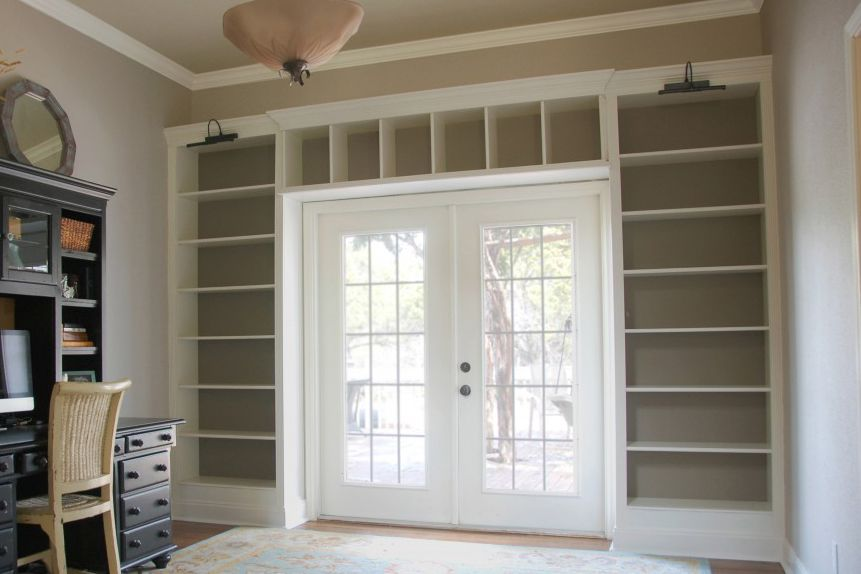 Billy-Bookcase-Built-in-French-Doors