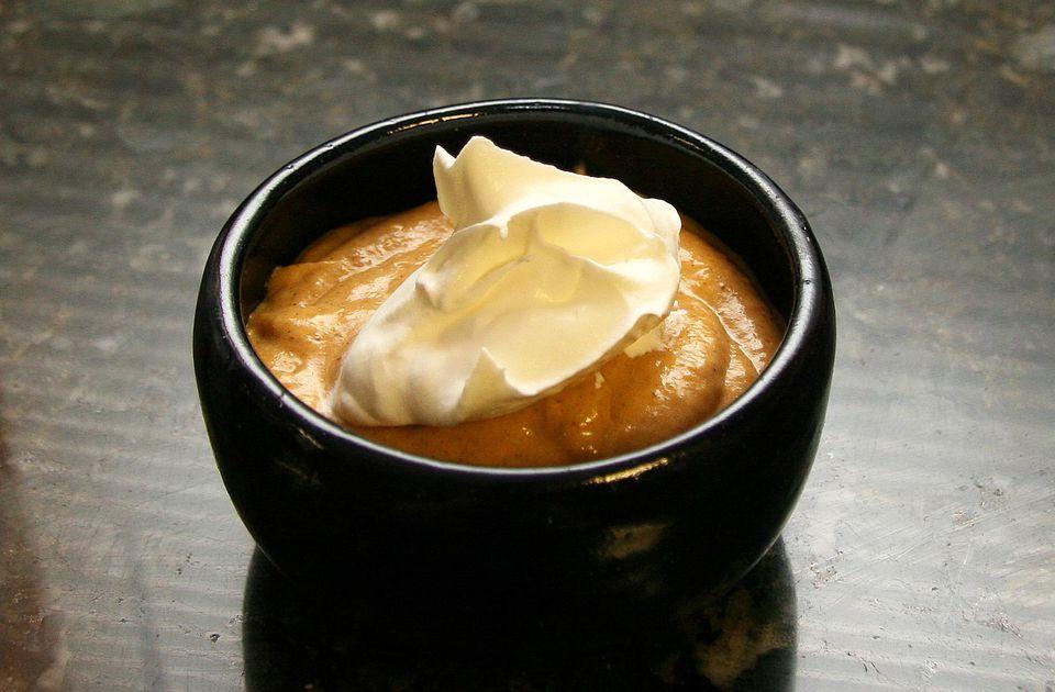 Slow Cooker PUmpkin Pudding