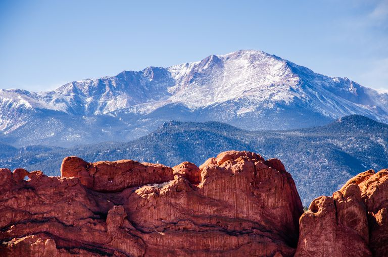 Pikes Peak and the Kissing Camels