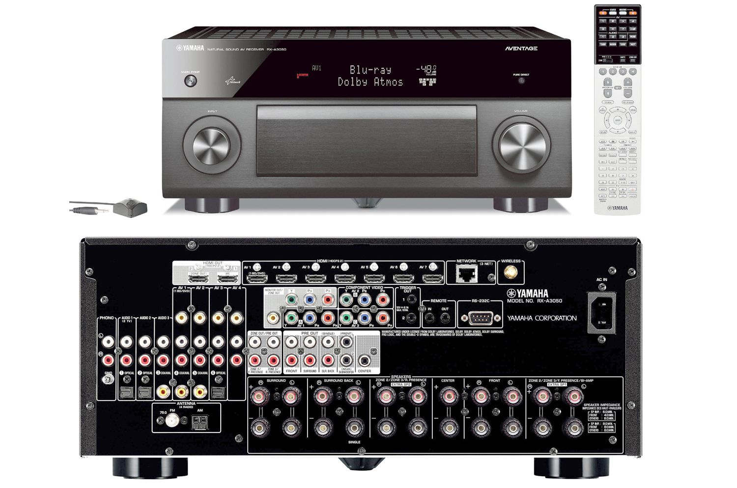 Yamaha Aventage Rx A50 Series Ht Receivers Product Profile