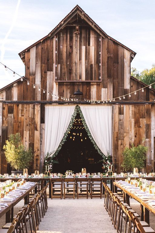 21 barn wedding ideas for your big day greengate ranch vineyard via pinterest junglespirit Images