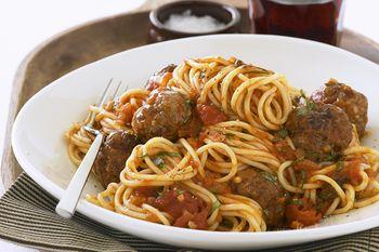 Classic Spaghetti And Meat