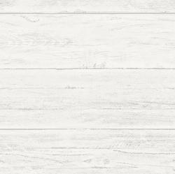"Shiplap 18' x 20.5"" Brick, Wood and Stone Wallpaper Roll"