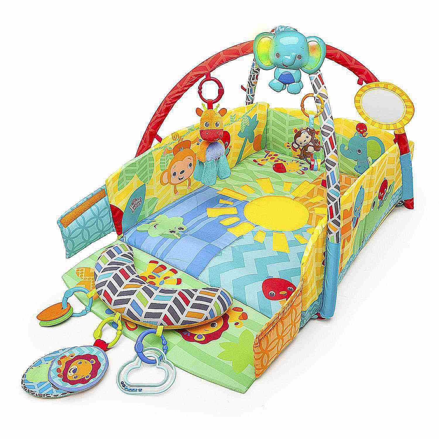 gym price sensory fp fisher in mat gymmatmusical toy rainforest busy activity baby