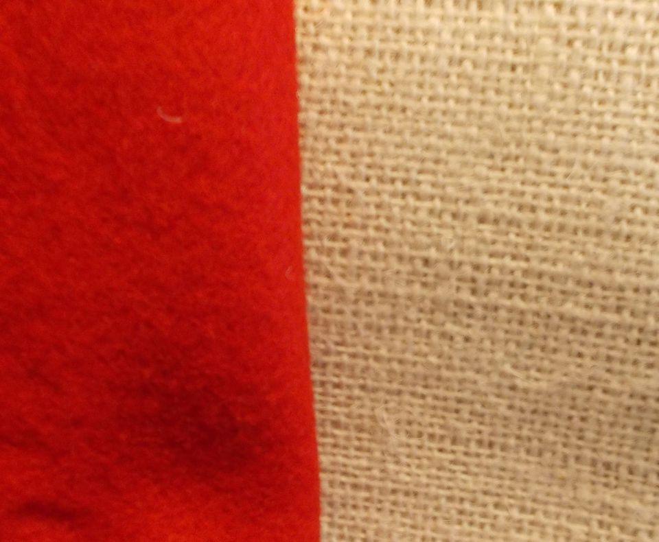 Burlap and Felt Fabric Photo