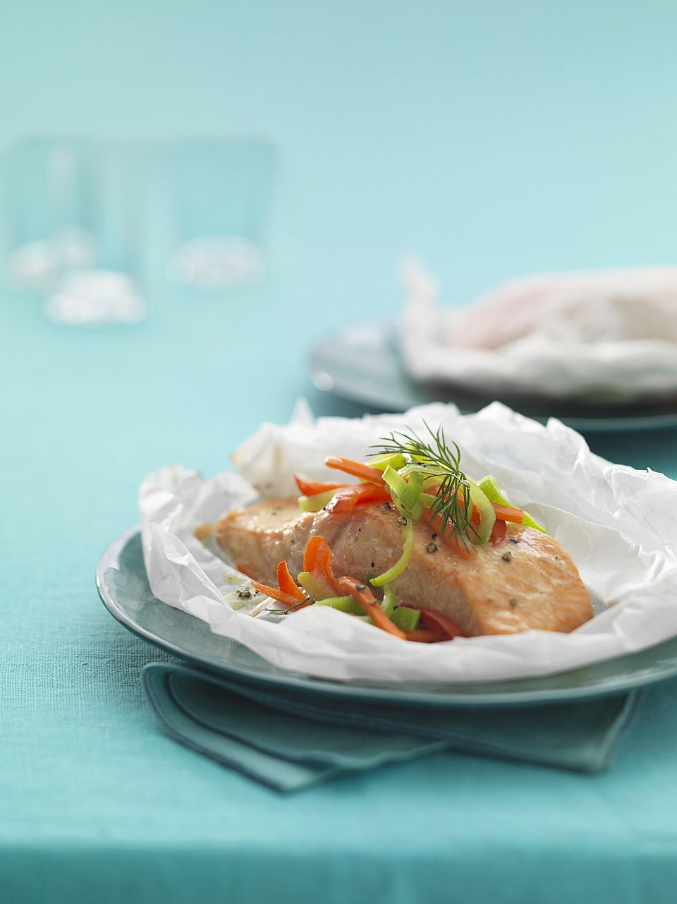 Fish in Papillote