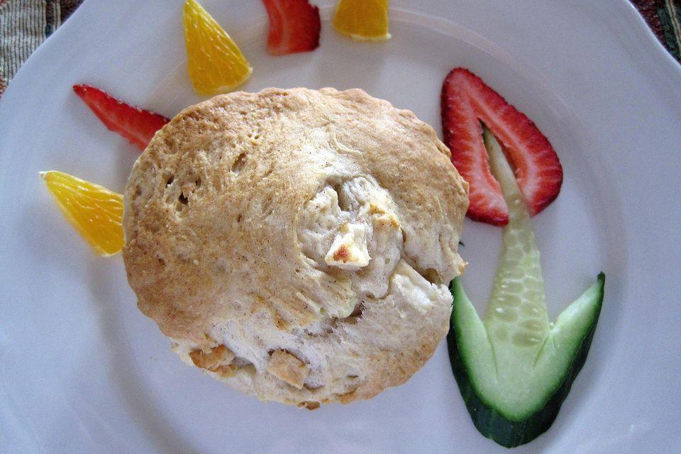 Apple cinnamon scone