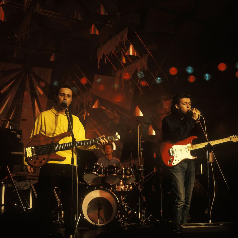 Tears for Fears performs live during the group's mid-'80s rise to pop music stardom.